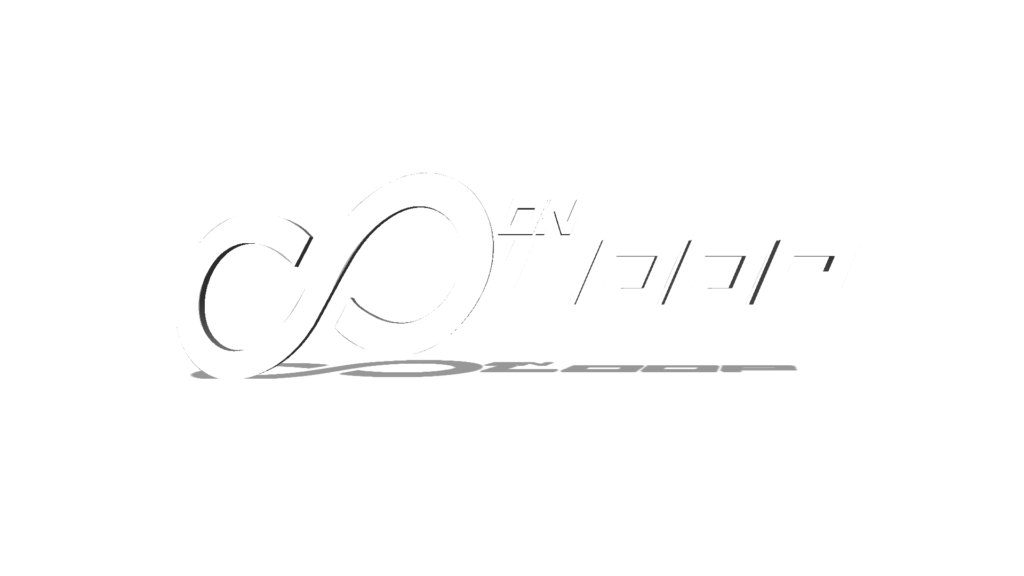 infinity on loop 3d logo horizontal