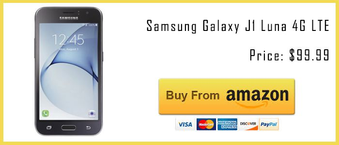 best tracfone smartphones Galaxy J1 Luna amazon buy now