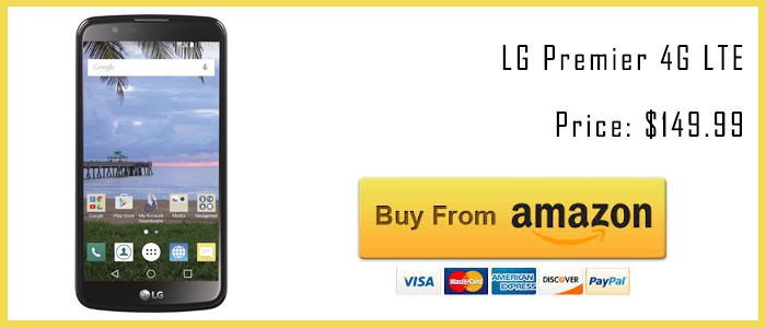 best tracfone smartphones LG Premier 4G amazon buy now